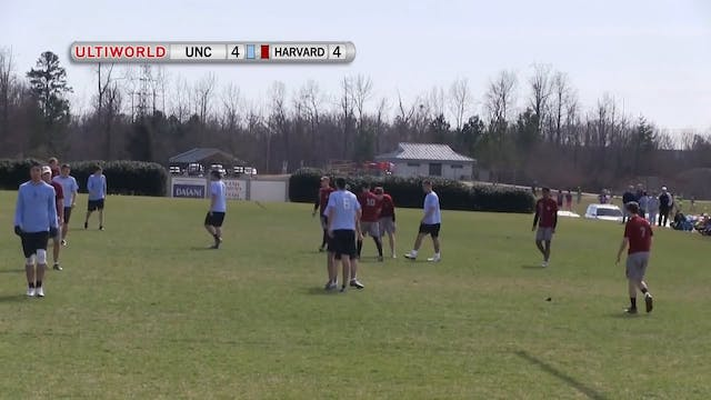 North Carolina vs. Harvard | Men's Se...