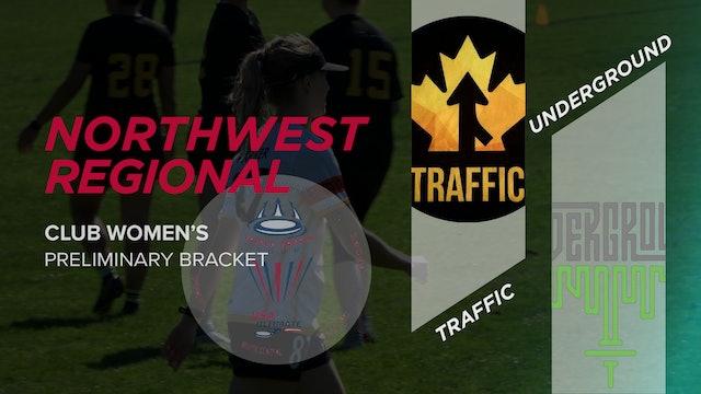 Traffic vs. Underground | Women's Preliminary Bracket