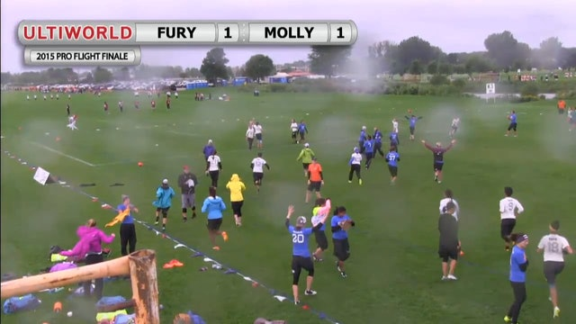 Pro Flight Finale 2015: Fury v Molly Brown (W Pool)
