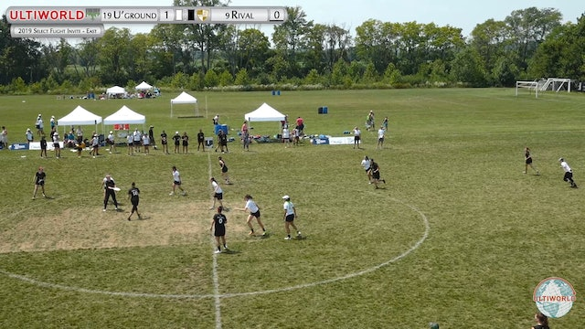 SFI - East 2019: #9 Rival vs #19 Underground (W Final)