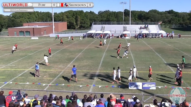 Club Championships 2013: Fury vs Showdown (W Semi)
