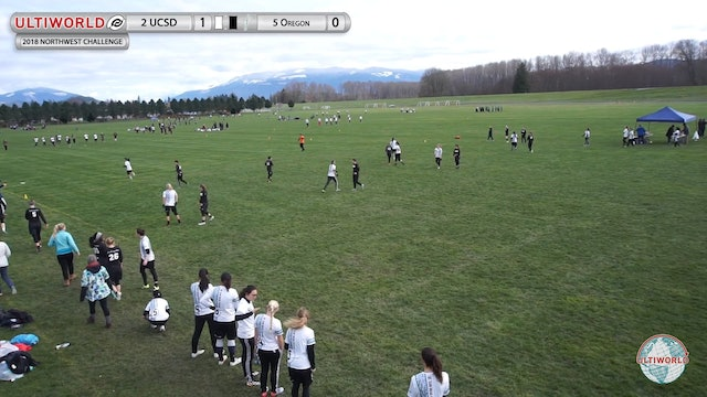 Northwest Challenge 2018: #2 UC-SD v #5 Oregon (W Semifinal)