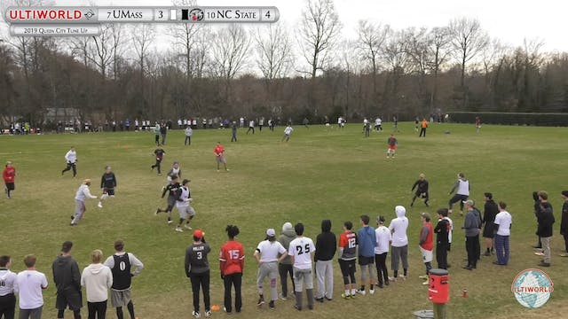 Massachusetts vs. NC State | Men's Se...