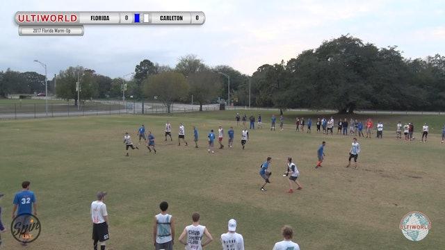 2017 Florida Warm Up: Florida v Carleton (Pool) presented by Spin Ultimate