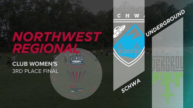 Schwa vs. Underground | Women's 3rd Place Final