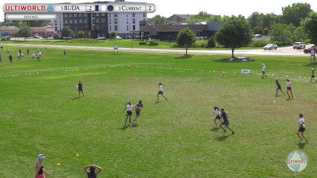 YCC 2019: #5 BUDA vs #3 Current (G Quarter)