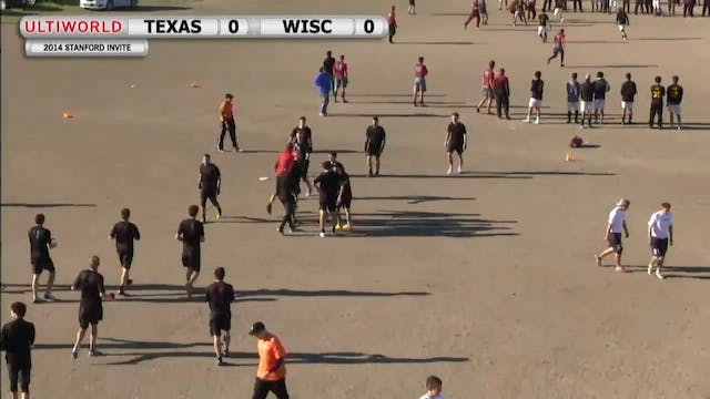 Texas vs. Wisconsin | Men's Prequarte...