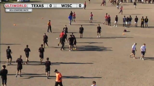 Stanford Invite 2014: Texas vs Wiscon...
