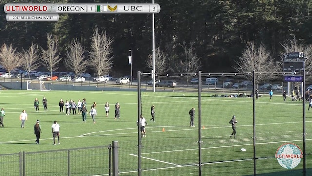 2017 Bellingham Invite - Oregon v. UB...