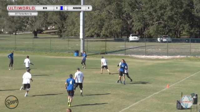 2017 Florida Warm Up: BYU v Auburn (Pool) presented by Spin Ultimate