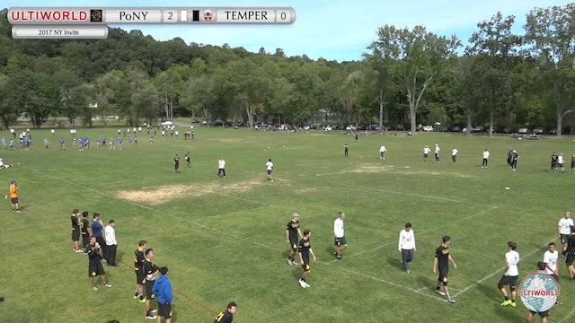 NY Invite 2017: PoNY v. Temper (M Pool)