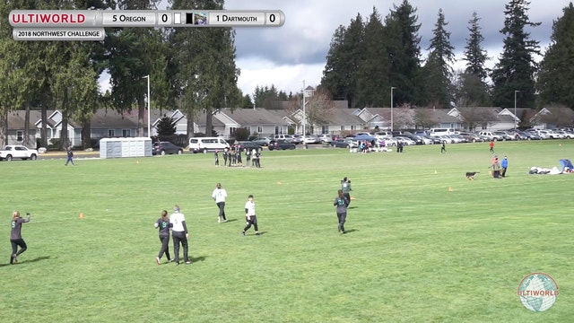 Northwest Challenge 2018: #5 Oregon v #1 Dartmouth (W Pool)