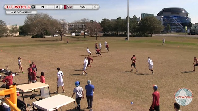 Pittsburgh vs. Florida State | Men's Final | Florida Warm Up 2015