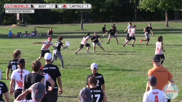 Bent vs. Capitals | Women's 2nd Place Final | Northeast Regionals 2014