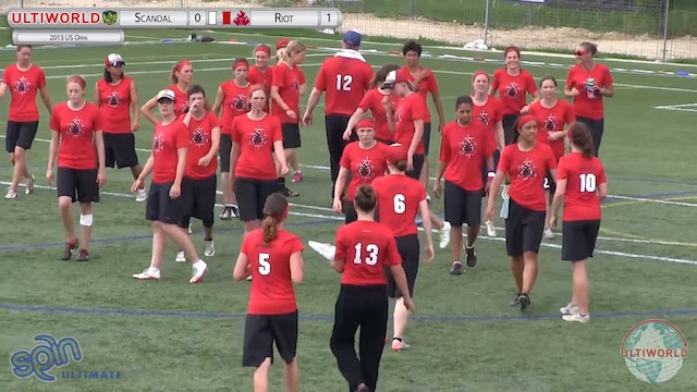 Riot vs. Scandal | Women's Semifinal | US Open 2013