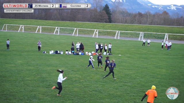 Whitman vs. California | Women's 9th ...