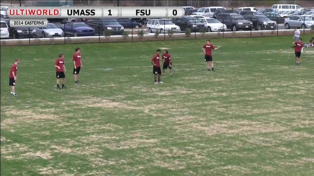 Massachusetts vs. Florida State | Men's Prequarterfinal | Easterns 2014