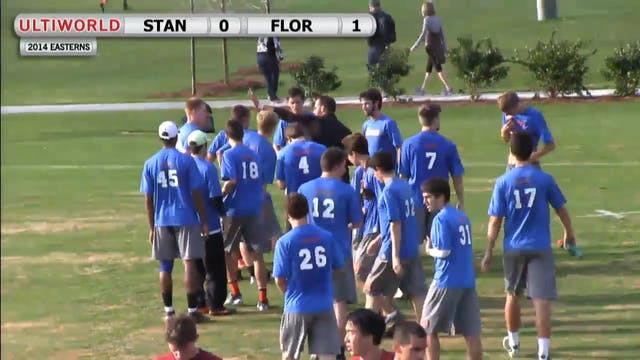 Easterns 2014: Florida vs Stanford (M)