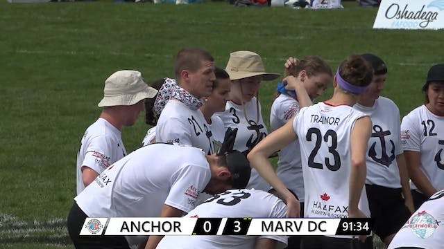 WUCC 2018: Anchor (CAN) v. Marvellous DC (NZL)