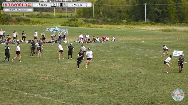 6ixers vs. Molly Brown | Women's Semi...