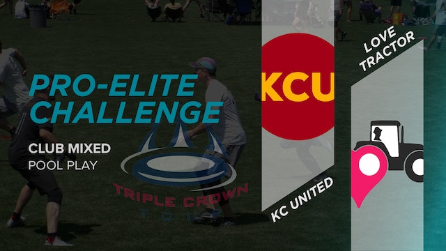 KC United vs. Love Tractor   Mixed Pool Play