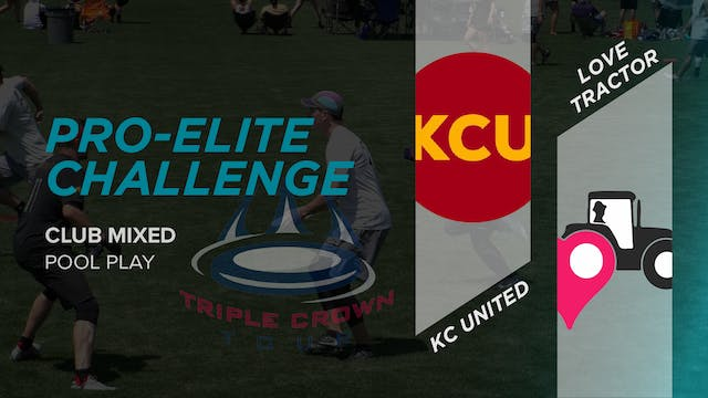 KC United vs. Love Tractor | Mixed Pool Play