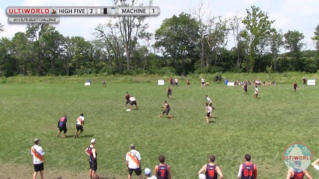 Elite-Select Challenge 2015: High Five v Machine (M Final)