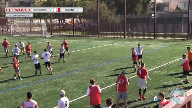 Northeastern vs. Arizona | Men's Pool Play | Santa Barbara Invite 2015