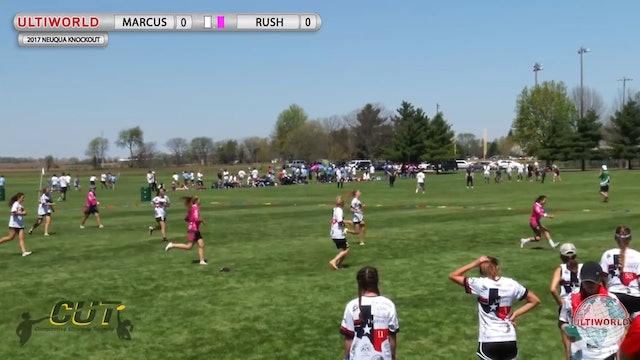 Rush vs. Marcus | Girl's Final | Neuqua Knockout 2017
