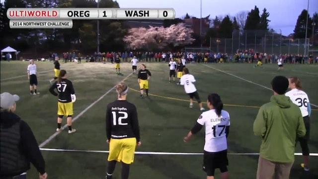 Northwest Challenge 2014: Oregon vs Washington (W Showcase)