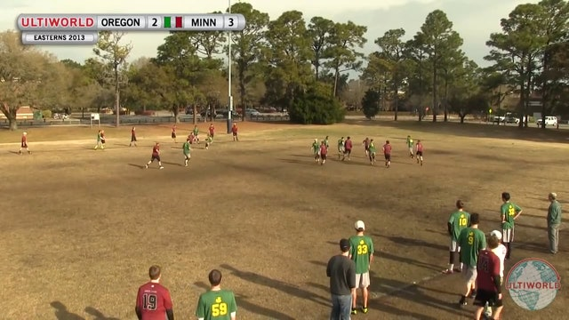 Easterns 2013: Oregon vs Minnesota (M)