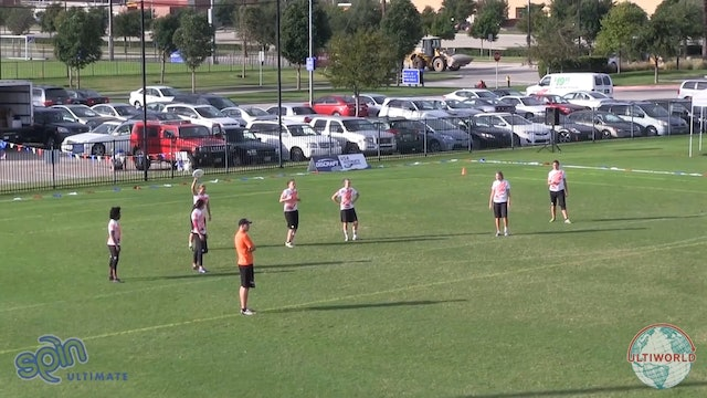 Club Championships 2013: Traffic v Capitals (W Pre-Quarter)