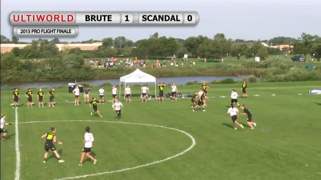 Pro Flight Finale 2015: Brute Squad v Scandal (W Pool)