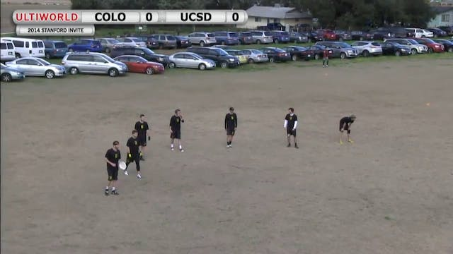 Stanford Invite 2014: Colorado vs UC ...