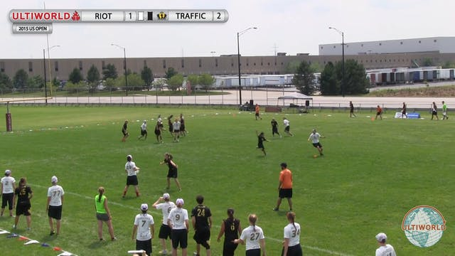 Riot vs. Traffic | Women's Semifinal ...