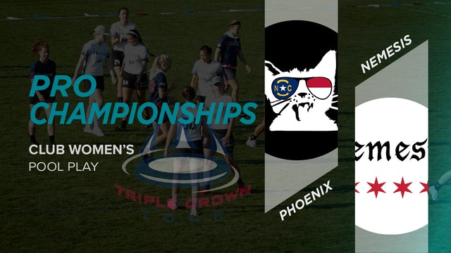 Phoenix vs. Nemesis | Women's Pool Play