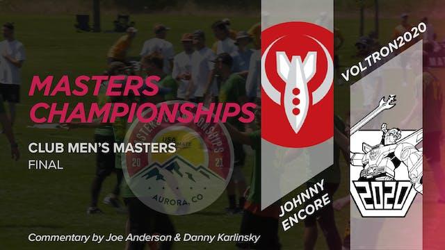 Johnny Encore vs. Voltron2020 | Men's Masters Final