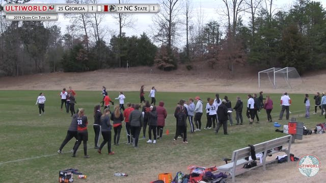 Queen City Tune Up 2019: #17 NC State vs #25 Georgia (W)