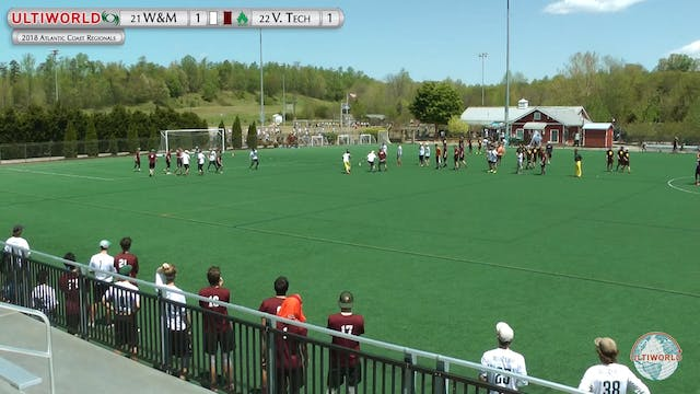 AC: #21 William & Mary vs. #22 V Tech...