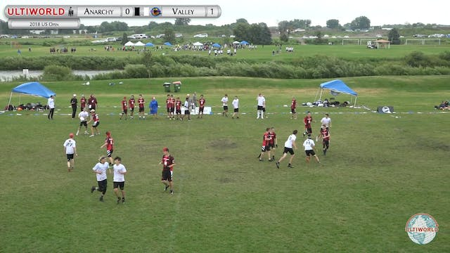 YCC 2018: Albany Anarchy v Valley Ultimate Tzoot [U20 Boys Pool]