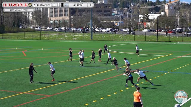 Women's Northwest Challenge 2019: #2 Dartmouth vs #4 UNC (W)