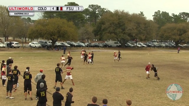 Colorado vs. Florida State | Men's Pool Play | Easterns 2013