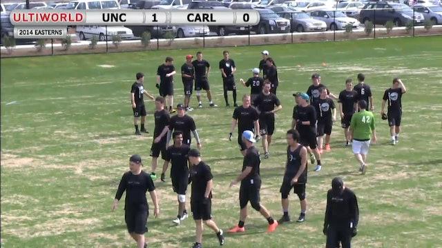 North Carolina vs. Carleton | Men's Pool Play | Easterns 2014