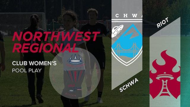 Schwa vs. Riot | Women's Pool Play