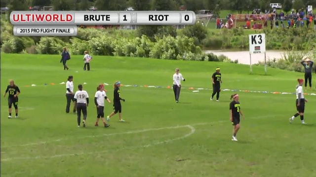 Pro Flight Finale 2015: Riot v Brute Squad (W Final)