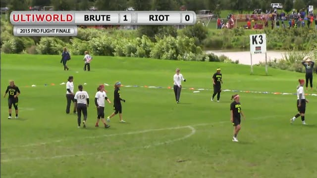 Riot vs. Brute Squad | Women's Final ...