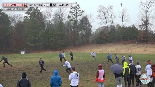 Queen City Tune Up 2018: Northeastern v Auburn (M Pool)