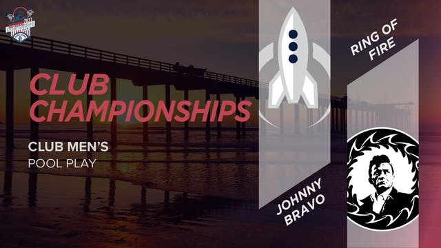 Johnny Bravo vs. Ring of Fire | Men's Pool Play