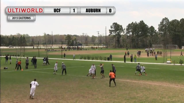 Easterns 2015: Central Florida v. Auburn (M Pool)