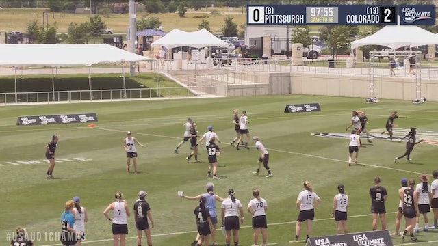 Colorado vs. Pittsburgh | Women's Pool Play | D-I College Championships 2019